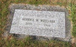 Bernice M. <i>Wright</i> Whitaker