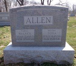Zona <i>Curtis</i> Allen