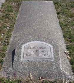 Celia F. <i>Curtis</i> Boyd