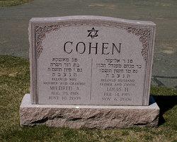 Mildred <i>Albert</i> Cohen