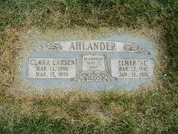 Clara Oloffine Precille <i>Larsen</i> Ahlander