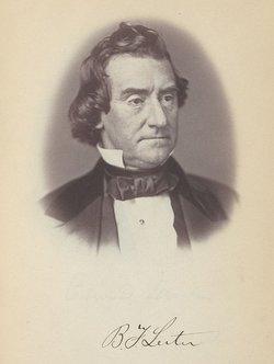 Benjamin Franklin Leiter