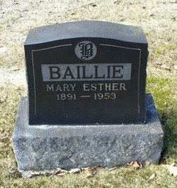 Mary Esther <i>Matheson</i> Baillie