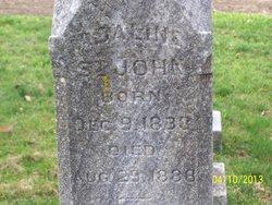 Adaline <i>King</i> St. John