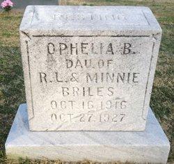 Orphelia Bernice Briles