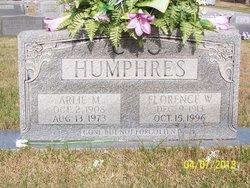 Florence Lillie <i>Williams</i> Humphres
