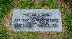 Walter S King