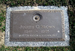 Judith O. Brown