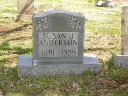Susan Jane <i>Earp</i> Anderson