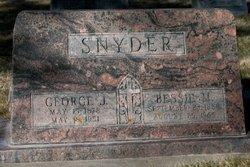 Bessie M. <i>French</i> Snyder