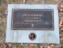 Jack Harold J. H. Burns