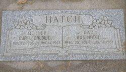Eva Luella <i>Caldwell</i> Hatch