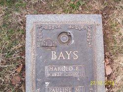 Harold Eugene Bays