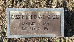 Cassie <i>Drinkard</i> Adams