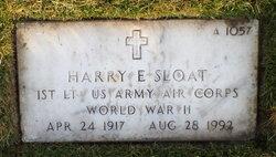 Harry E Sloat