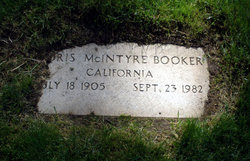 Doris <i>McIntyre</i> Booker