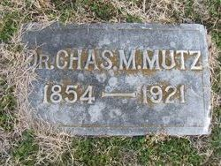 Dr Charles M. Mutz