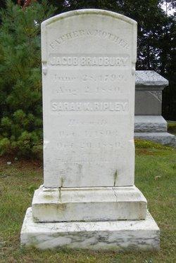 Sarah K. <i>Ripley</i> Bradbury