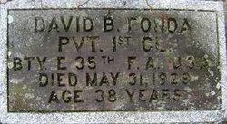 David B Fonda