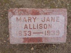 Mary Jane Jennie Allison