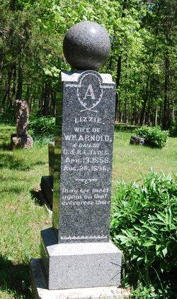 Mary Elizabeth Lizzie <i>Yates</i> Arnold