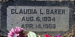 Claudia L Baker