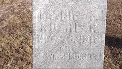 Frances L Fannie <i>Way</i> Koehlar