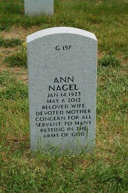 Anna <i>Sehn</i> Nagel