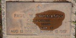 William Paul Bill Thomason, Sr