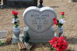 Betty Jewel <i>Hale</i> Lawson