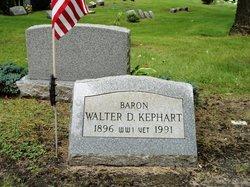 Walter D Kephart
