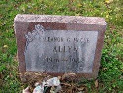 Eleanor G <i>McCue</i> Allyn