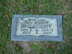 May <i>Roberts</i> McClaugherty