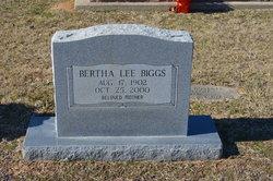 Bertha Lee <i>Gowen</i> Biggs