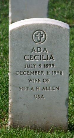 Ada Cecilia Allen
