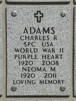 Charles Raymond Adams