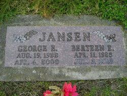 George Edgar Bub Jansen