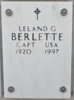 Leland G Berlette