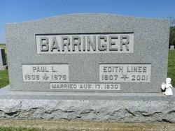 Edith L. <i>Lines</i> Barringer