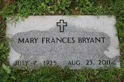 Mary Frances <i>Humbert</i> Bryant