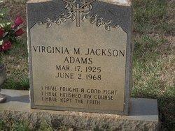 Virginia <i>Jackson</i> Adams