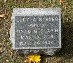 Lucy A <i>Strong</i> Chapin