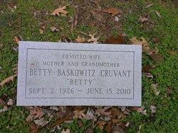 Betty <i>Baskowitz</i> Cruvant