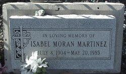Isabel <i>Moran</i> Martinez
