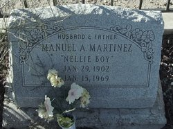 Manuel A Nellie Boy Martinez