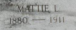 Mattie L. Bailey