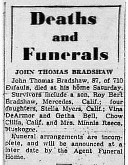 John Thomas Bradshaw