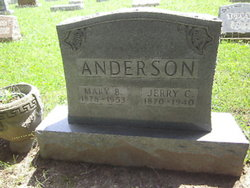 Jeremiah C Jerry Anderson
