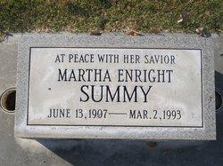 Martha M. <i>Enright</i> Summy