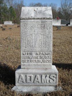 Affie Adams